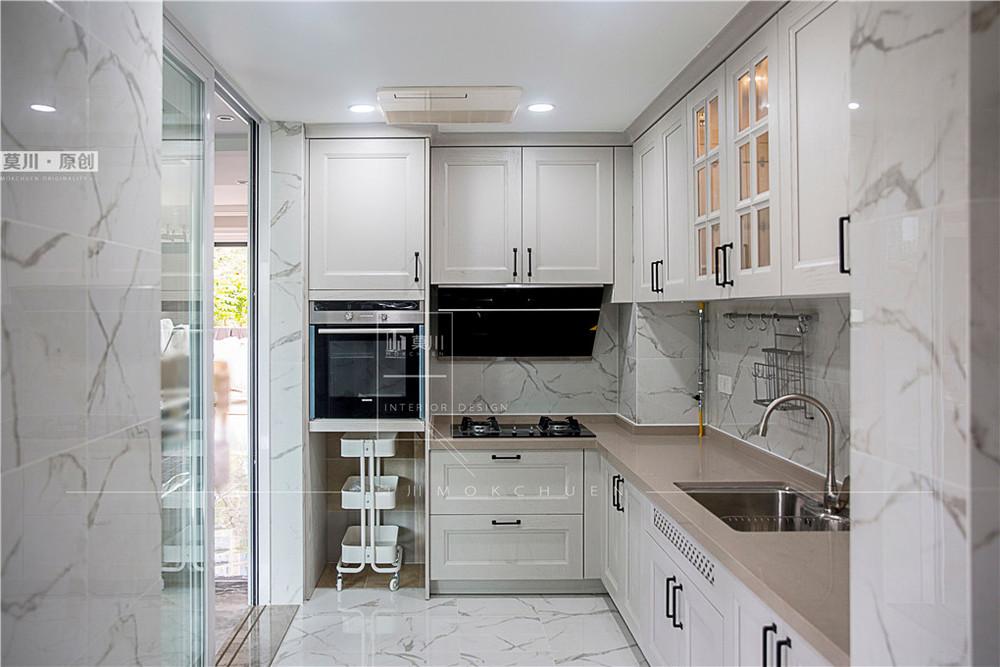 香域中央厨房装修完工实拍图