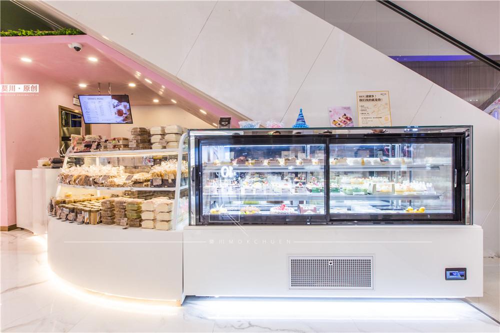 甜品店装修设计效果图